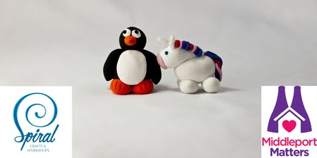 More Fun With Polymer Clay II - Penguins and Unicorns tickets