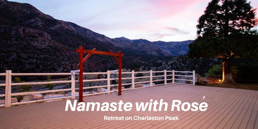 The Wine Yoga Experience-Namaste with Rose Session