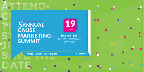 5th Annual Cause Marketing Summit NYC tickets