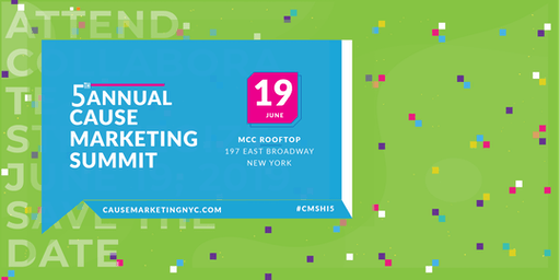 5th Annual Cause Marketing Summit NYC