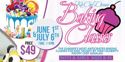 Kid Chef Dreams Summer Baking Classes