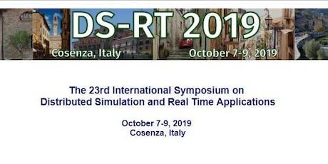 IEEE/ACM DS-RT 2019 tickets
