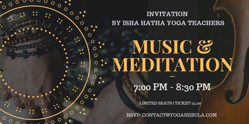 LIVE MUSIC & MEDITATION: EXPERIENCE THE POWER OF MYSTICAL CHANTS