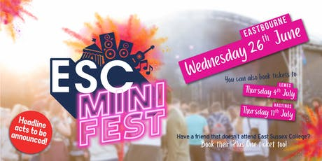 ESC Mini Fest - Eastbourne tickets