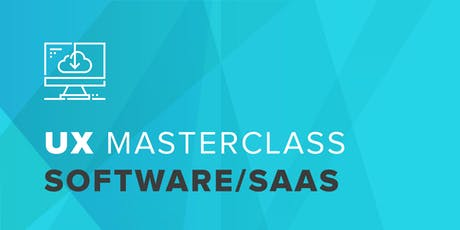 UX Masterclass - User Experience Design voor Software & Saas tickets