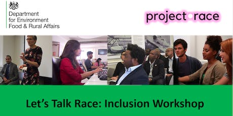 Let's talk Race Inclusion Workshop-SCS tickets