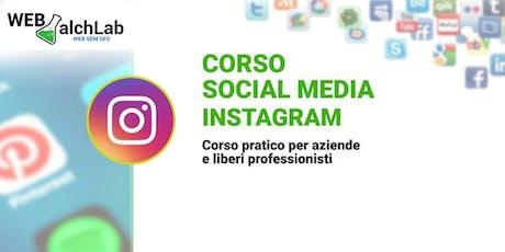 Corso Instagram | Web AlchLAB Academy biglietti