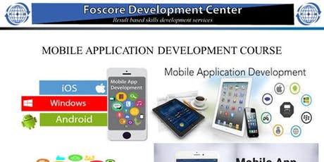 MOBILE APPLICATION DEVELOPMENT COURSE tickets