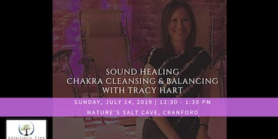 Crystal Bowl Sound Healing with Tracy Hart in Salt Cave