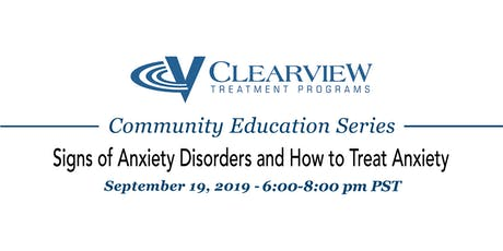 Signs of Anxiety Disorders and How to Treat Anxiety tickets