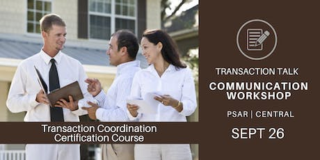 Transaction Talk Communication Workshop tickets
