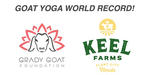 GOAT YOGA WORLD RECORD presented by Keel Farms