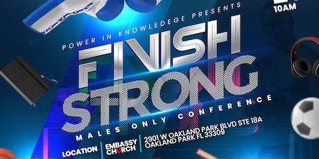 P.I.N.K- Finish Strong (Males Only) tickets