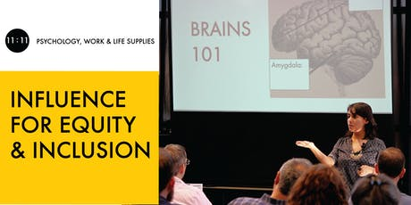 THE SCIENCE OF INFLUENCE: EQUITY AND INCLUSION EDITION tickets