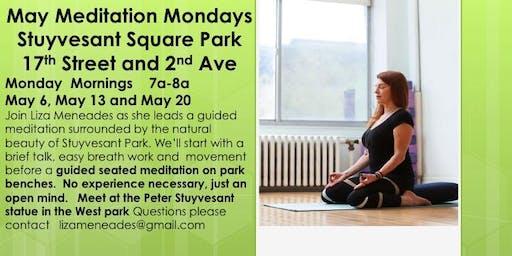 Monday Morning Meditation in Stuyvesant Sq Park