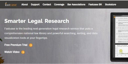 Legal Research with FastCase