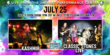 Kashmir with Classic Stones Live - Sands Sounds of Summer Concert Series tickets