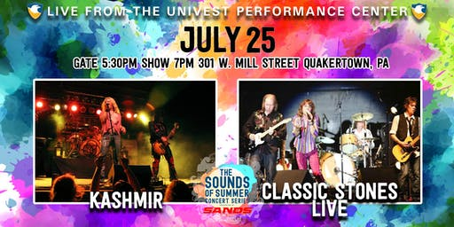 Kashmir with Classic Stones Live - Sands Sounds of Summer Concert Series