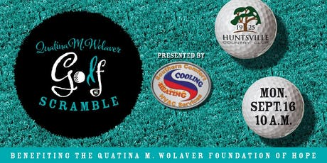 Quatina M. Wolaver Foundation of Hope Golf Scramble tickets
