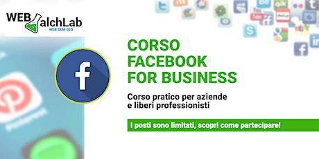 Corso Facebook Avanzato | Web AlchLAB Academy biglietti