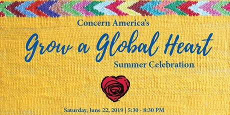 2019 Grow a Global Heart Summer Celebration tickets