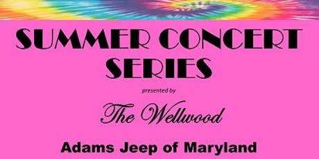 "WELLWOOD / ADAMS JEEP SUMMER CONCERT SERIES THE REAGAN YEARS 80""s BAND tickets"