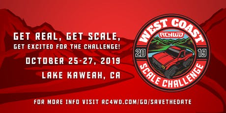 West Coast Scale Challenge 2019 tickets