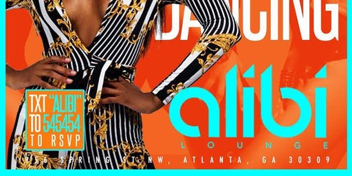 Blend Thursdays At Alibi (Front Room of Opium) Everyone enters FREE ALL NIGHT