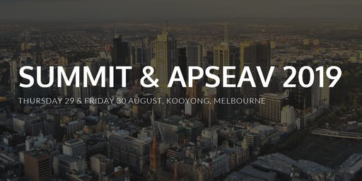 SSSI Victoria Surveying and Spatial Summit & APSEAV 2019