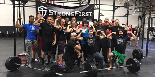 StrongFirst Team Leader, Brian Wright's Strength Event and Cookout