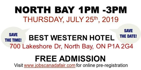 FREE: North Bay Job Fair – July 25th, 2019 tickets