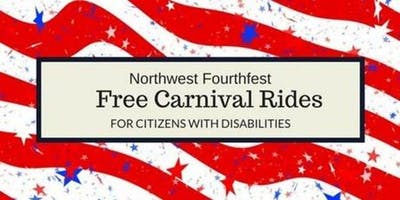 Northwest Fourthfest Free Carnival Rides for Citizens with Disabilities