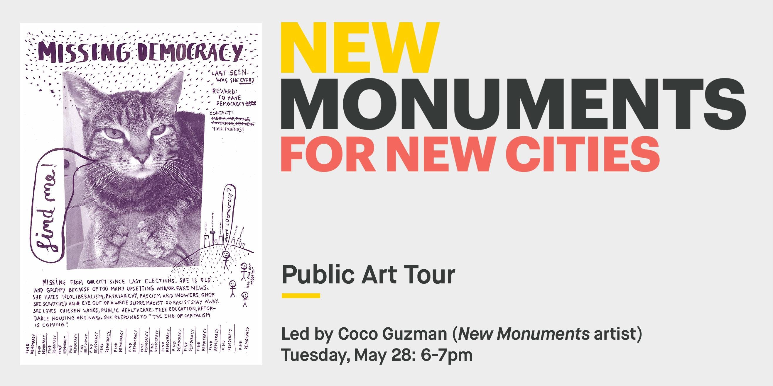 New Monuments: Public Art Tour with Coco Guzman