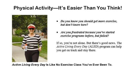 FREE Active Living Every Day Class: Hastings Senior Center12 Week Class Series tickets
