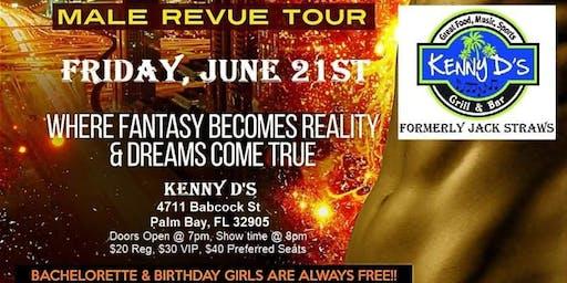 Men of Utopia  Male Revue @ Kenny D's in Palm Bay