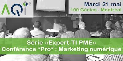 Conférence *Pro* : Le Marketing numérique