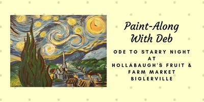 Ode to Starry Night - Hollabaugh Bros. Inc. Paint-Along
