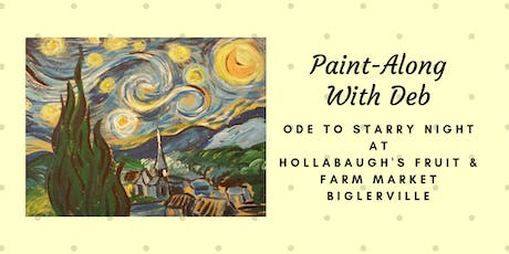 Ode to Starry Night - Hollabaugh Bros. Inc. Paint-Along tickets