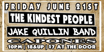 The Kindest People with Jake Quillin Band