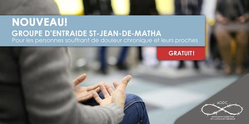 AQDC : Groupe d'entraide St-Jean-de-Matha - 17 juin 2019