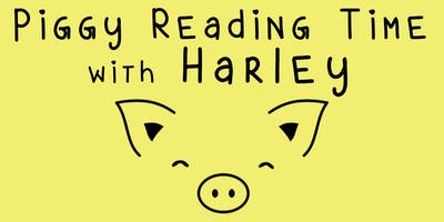 Piggy Reading Time with Harley