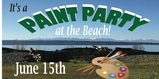 Paint Party at the Beach (all day)