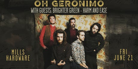 Oh Geronimo tickets