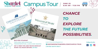 Campus Tour by Shantel - Christopher Newport & William and Mary Universities