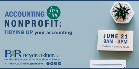 Accounting for the Nonprofit: TIDYING UP your accounting tickets