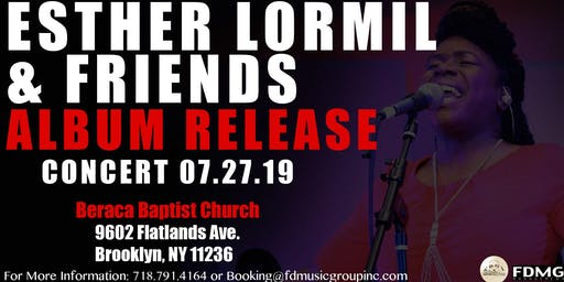 Esther Lormil and Friends Album Release Concert