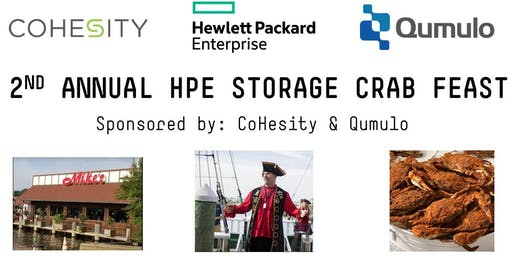 2nd Annual HPE Federal Storage Crab Feast - Sponsored by CoHesity