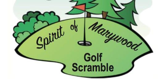 Marywood's 4th Annual Golf Scramble