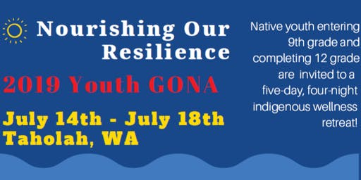 Nourishing Our Resilience 2019 Youth GONA
