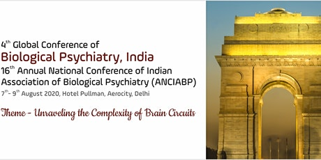 4th Global Conference of Biology Psychiatry, India tickets